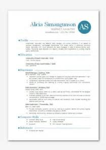Resume Sample Modern by Modern Microsoft Word Resume Template Alicia By Inkpower