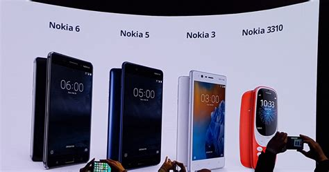 Nokia 3 Android nokia 3 nokia 5 and nokia 6 android running smartphones