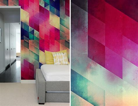 pattern accent wall ideas create a captivating accent wall with geometric patterned