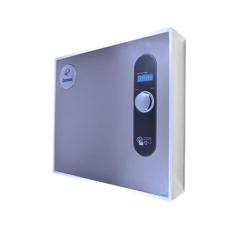 Electric Water Heaters At Home Depot by Eemax Homeadvantage Ii 24 Kw 240 Volt Electric Tankless Water Heater Ha024240 The Home Depot