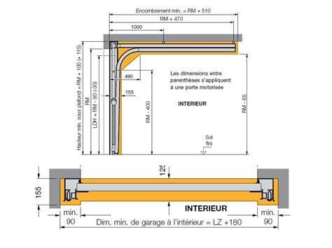 Portail Garage Standard by Hauteur Porte De Garage Standard Obasinc