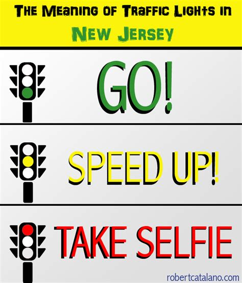 Meaning Of Light by The Meaning Of Traffic Lights In New Jersey Robert Catalano