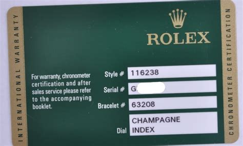 Guarantee Card Template by Rolex Warranty Cards Information Bob S Watches