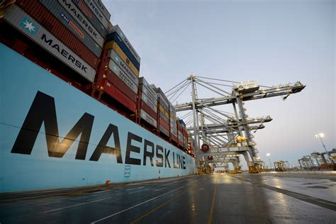 Mba Maersk International Shipping Education by Maersk Line S Samba Service To Call At Dp World