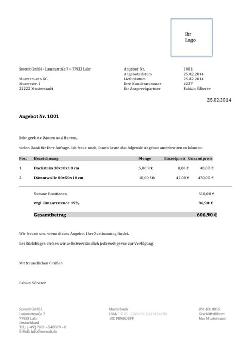 Vorlage Verzug Musterbrief Kostenlose Vorlagen Und Muster Sevdesk