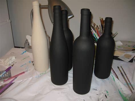 anton murals paint a wine bottle
