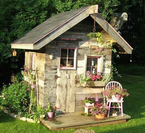 cute garden cute garden shed gardening pinterest