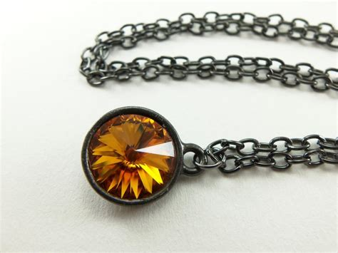 november birthstone jewelry november birthstone necklace citrine necklace november
