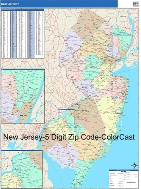 zip code map jersey city new jersey zip code map from onlyglobes com