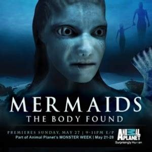 all comments on mermaids sunday may 27 9pm mermaids the found explores the possibility of