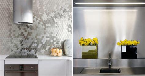 installing stainless steel backsplash kitchen design idea install a stainless steel backsplash