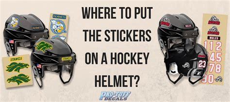 Nhl Helmet Stickers