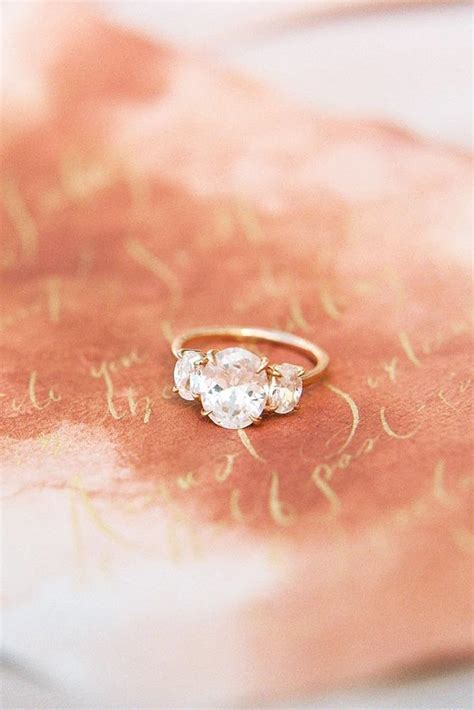 Best 25  Oval wedding rings ideas on Pinterest   Oval