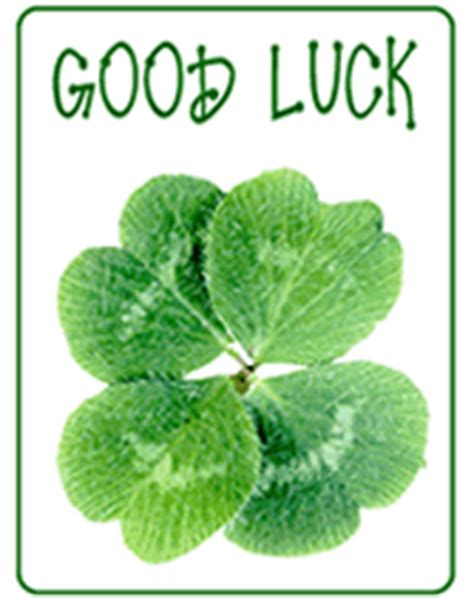 printable card good luck best luck greetings
