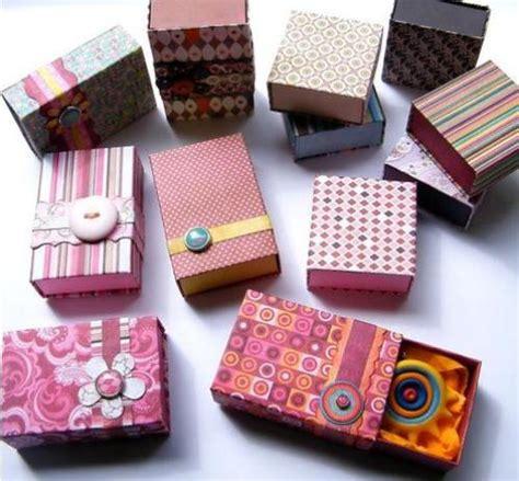 decorar cajas de carton con hilo decorar cajas de madera con papel manualidades de