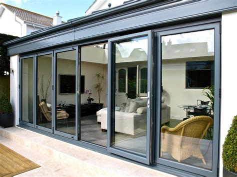 Bi Fold Patio Doors Aluminum Bi Folding Doors Stockport Tameside Direct Window Outlet