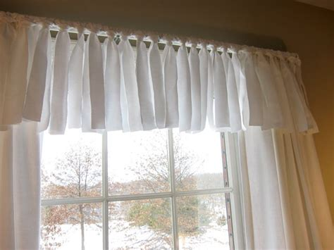 Sew A Valance easy no sew window valance