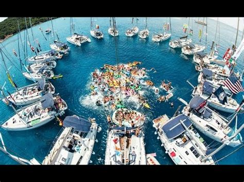 yacht week 2018 the yacht week croatia hd youtube