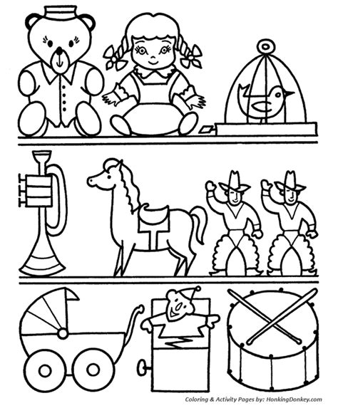 shopping for sheets christmas shopping coloring pages kids christmas toy