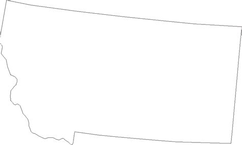 montana map coloring page free coloring pages of outline montana