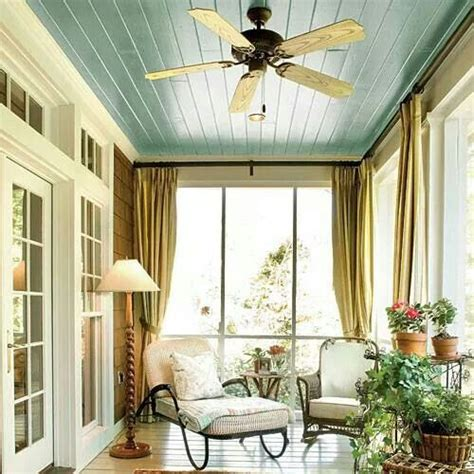 painted porch ceiling lovely home 2