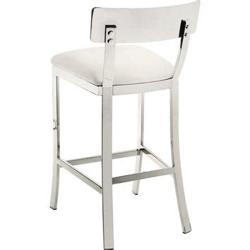 White Leather Counter Height Stools Best White Leather Counter Stools Products On Wanelo