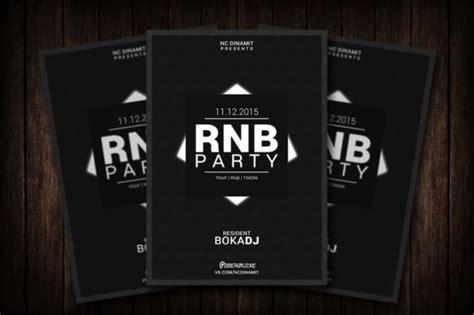 template rnb flyer rnb party flyer by malaxay on creative market flyer