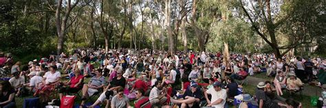 Concerts At Botanical Gardens 2016 Summer Sounds Concert Series Canberra