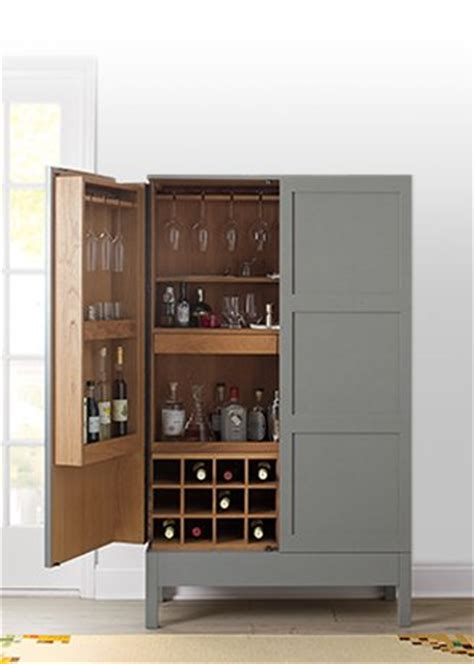 Victuals Bar Cabinet Bar Cabinets And Bar Carts Crate And Barrel