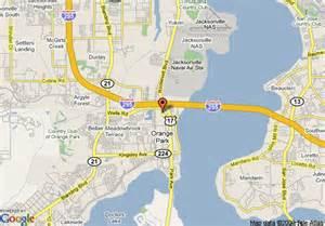 map of inn hotel suites orange park orange park