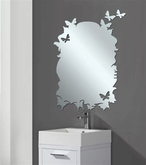 different shaped mirrors home design