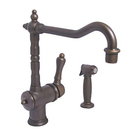jado kitchen faucets jado victorian old bronze kitchen faucet w side spray ebay