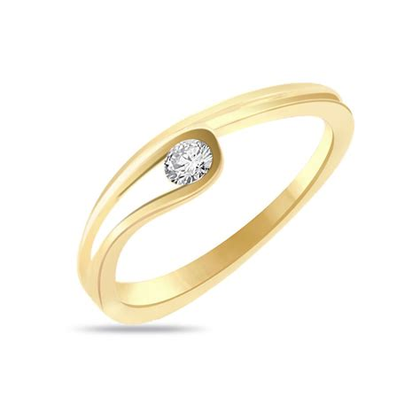 Gold Engagement Rings by Simple Gold Engagement Rings Elegance In Simplicity