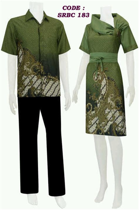 Kain Batik 183 dress batik koleksi baju batik modern page 2