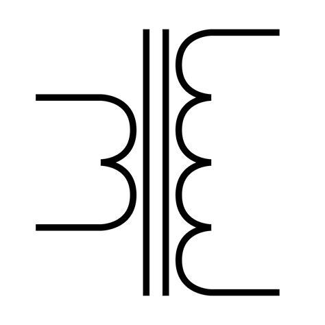 transformer electrical symbol clipart best