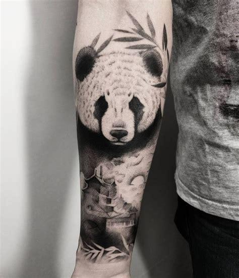 panda tattoo arm 25 best ideas about panda tattoos on pinterest