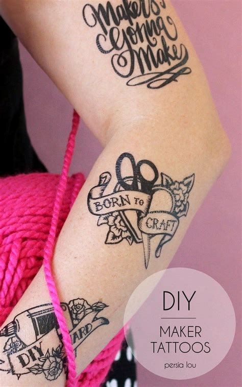 temporary tattoo diy 17 best images about silhouette projects on
