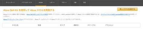 amazon developer 5分でalexaスキルを作る ヤマムギ