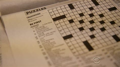 usa today crossword for iphone crossword puzzle do clues reveal plagiarism cbs news