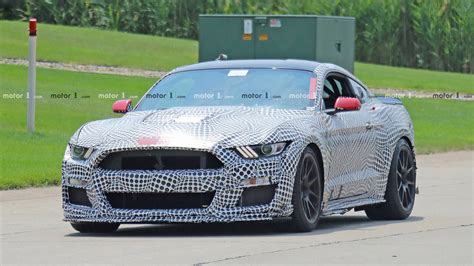 ford mustang shelby gt allegedly leaked