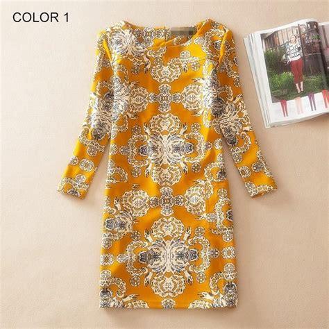 Autumn Print Shirt Restock Midi Dress 1 winter dress sleeve vintage floral print
