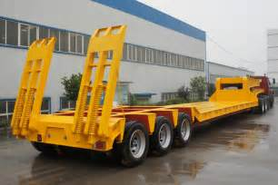lowbed trailers lowboy trailers china sinotrailers