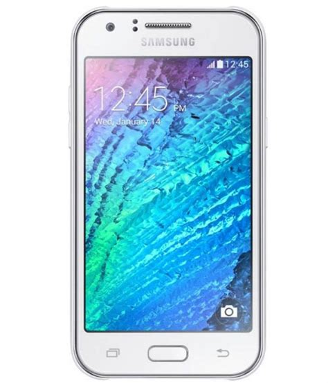Samsung J1 Es samsung galaxy j1 4gb white mobile phones at low prices snapdeal india
