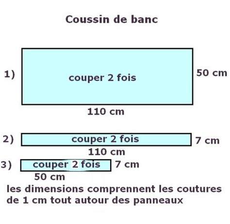 Coussins De Banc by Tuto Coussin Pour Banc Coussin De Banc Restes De Tissu