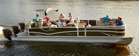 Cabin Pontoon Boat by The 6 Best Luxury Pontoon Boats Pontooners