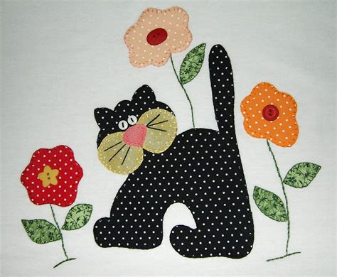 Patchwork Applique Patterns - gatos para patchwork moldes oyolaamanda yahoo