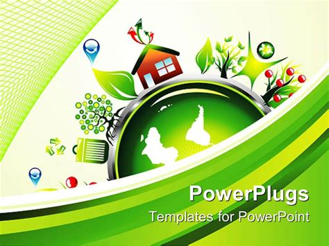 themes for environmental ppt global environmental recycling powerpoint template global