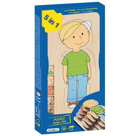 Toddler Bedding Set Beleduc Layer Puzzles Boy 17129