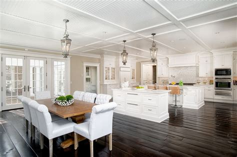 Gorgeous Chandeliers 45 Luxurious Kitchens With White Cabinets Ultimate Guide