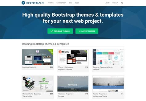 Bootstrap Themes W3 | 10 best bootstrap themes templates marketplaces to buy
